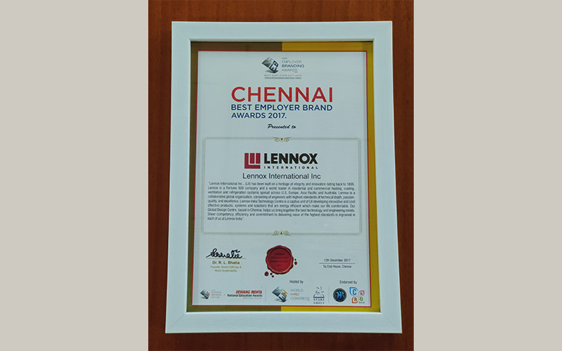 Best employer brand award chennai